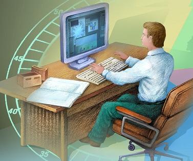 Бесплатный сервис контроля компьютеров сотрудников.