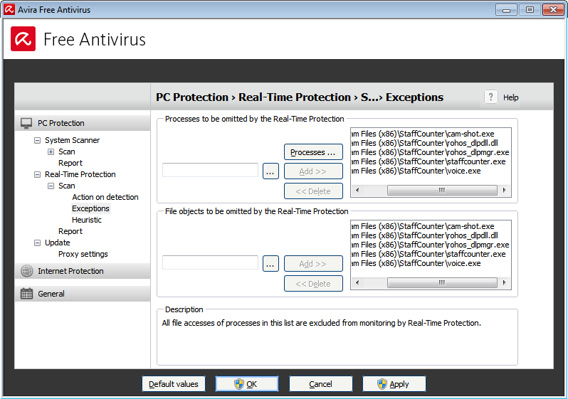 You should add the application and its modules to your antivirus' list of exceptions.