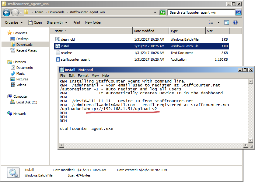 StaffCounter for Windows