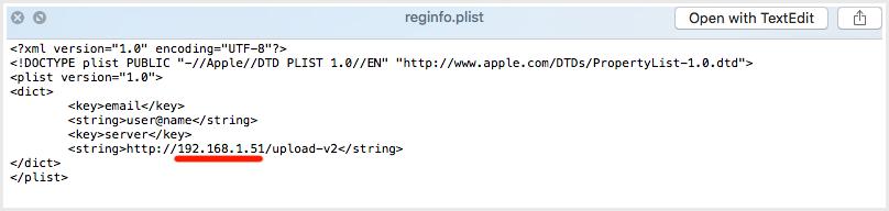 StaffCounter for Mac OS X.