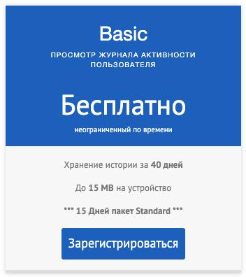 Дополнительные возможности бесплатного пакета Basic от StaffCounter.